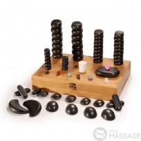 Набір каменів для масажу Super Deluxe 76Pcs Massage