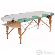 Масажний стіл складний буковий Miracle Plus