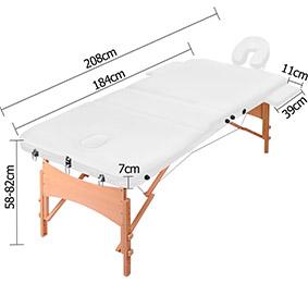 Размеры массажного стола