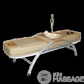 Нефритовая кровать Alcor на металлической основе