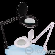 Збільшувальна настільна лампа-лупа LS-6016 LED — 5 діоптрій