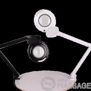 Лампа-лупа настільна 6017 LED 3D