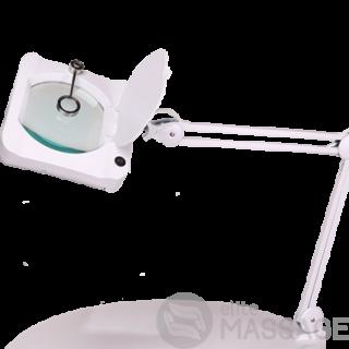 Увеличительная настольная лампа-лупа LS-6018 LED - 3+12 диоптрий