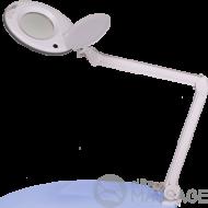 Лампа-лупа LS-6027 LED 5 діоптрій + штатив 5В