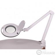 Збільшувальна настільна лампа-лупа 6017 LED — 3 діоптрії + лінза 5 діоптрій