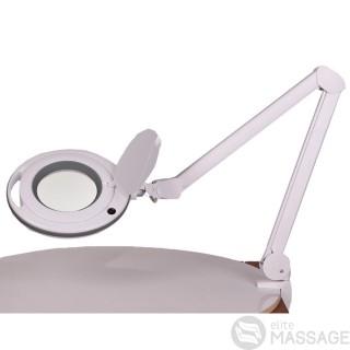 Увеличительная настольная лампа-лупа 6017 LED — 3 диоптрии + линза 5 диоптрий