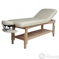 Кушетка массажная стационарная деревянная KP-10